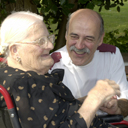 Royal Bay Care Home carer and resident