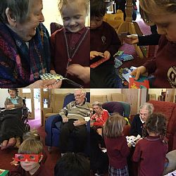 Claremont Lodge Care Home & Great Ballard School Intergenerational Project